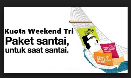 Apa Itu Kuota Weekend Tri dan Cara Menggunakannya